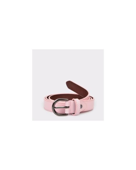 Curea EPICA roz, F22, din piele naturala
