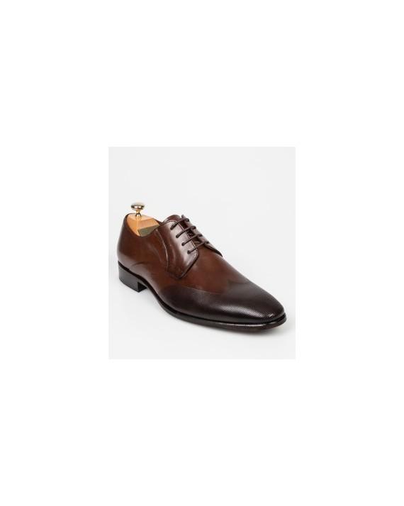 Pantofi LE COLONEL maro, 61301, din piele naturala