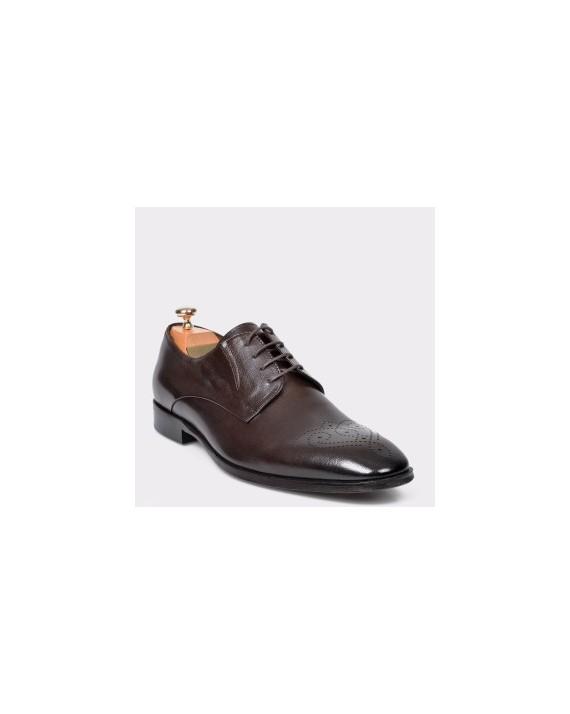Pantofi LE COLONEL maro,48730, din piele naturala