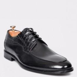 Pantofi LE COLONEL negri, 42279, din piele naturala