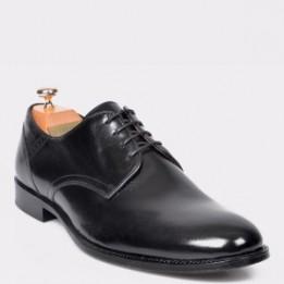 Pantofi LE COLONEL negri, 45248, din piele naturala