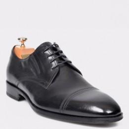 Pantofi LE COLONEL negri, 48433, din piele naturala