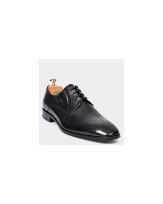 Pantofi LE COLONEL negri, 48730, din piele naturala