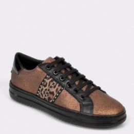 Pantofi sport GEOX maro, D94FED, din piele ecologica