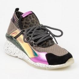 Pantofi sport EPICA multicolori, 3027, din material textil si piele naturala