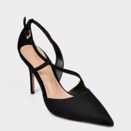 Pantofi ALDO negri, Hendabeth001, din nabuc