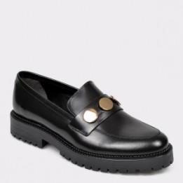 Pantofi ALDO negri, Rundra001, din piele naturala lacuita