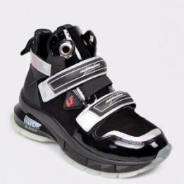 Pantofi sport FLAVIA PASSINI negre, 65520, din piele naturala