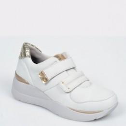 Pantofi STONEFLY albi, Elettr1, din piele naturala