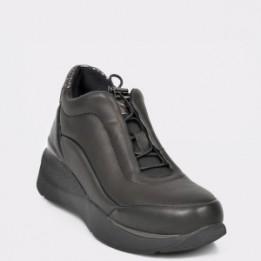 Pantofi STONEFLY negri, Elettr3, din piele naturala