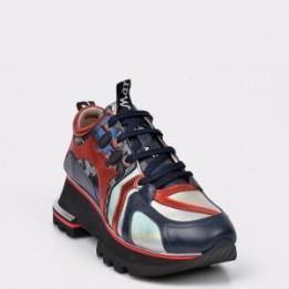 Pantofi sport FLAVIA PASSINI argintii, 2224, din piele naturala