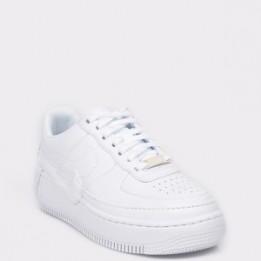 Pantofi sport NIKE, W AF1 Jester XX albi, din piele naturala