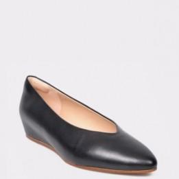 Pantofi CLARKS negri, Sense Lula, din piele naturala