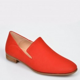 Pantofi CLARKS rosii, Pure Viola, din piele naturala