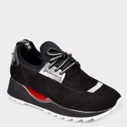 Pantofi sport FLAVIA PASSINI negri, 2319, din piele intoarsa