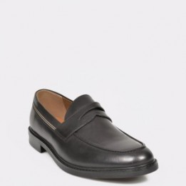 Pantofi ALDO negri, Thelaven, din piele naturala