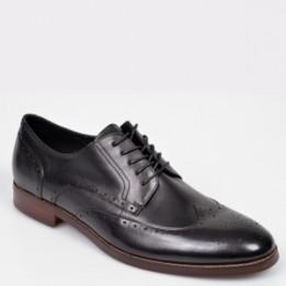 Pantofi ALDO negri, Thirellan, din piele naturala