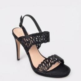 Sandale EPICA negre, 20862, din piele ecologica