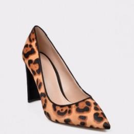 Pantofi ALDO maro, 12647292, din material textil si piele naturala
