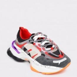 Pantofi sport FLAVIA PASSINI gri, MX99189, din piele naturala