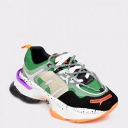 Pantofi sport FLAVIA PASSINI multicolori, MX99189, din material textil si piele naturala