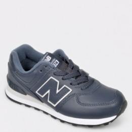 Pantofi sport NEW BALANCE bleumarin, Pc574, din piele naturala