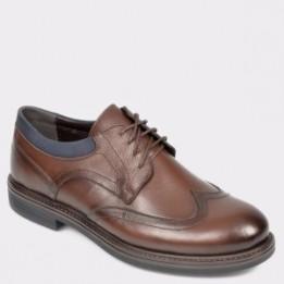 Pantofi OTTER maro, 3612, din piele naturala