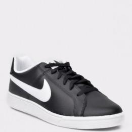 Pantofi sport NIKE, Court Royale negri, din piele ecologica