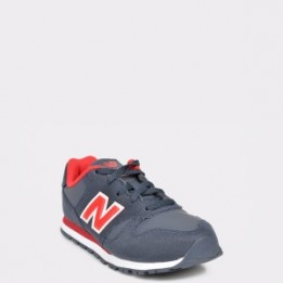 Pantofi sport NEW BALANCE bleumarin, YC373, din material textil si piele naturala