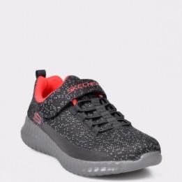 Pantofi sport SKECHERS negri, 97890L, din material textil