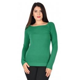 Pulover dama verde W1007 V