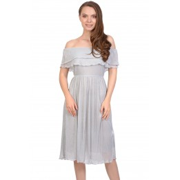 Rochie eleganta de seara cu lurex 1071